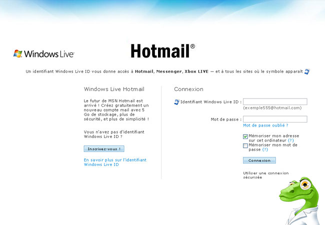 Hotmail.fr Messagerie et Boite de reception