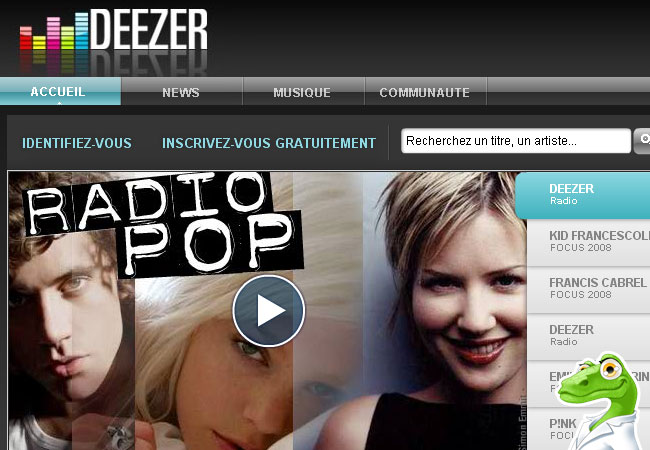 Deezer.fr Musique Gratuite