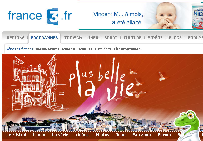 Plus belle la vie France3.fr