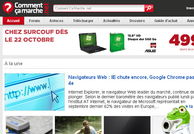 Comment Ca Marche.net Forum et Internet